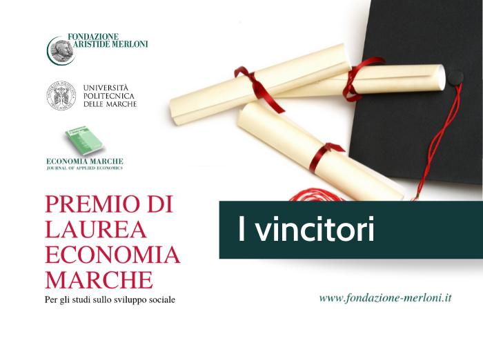 Vincitori premio di laurea 2020 Fondazione Merloni