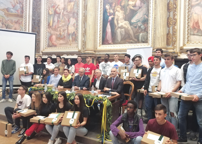 cerimonia di consegna borse di studio miliani 2019