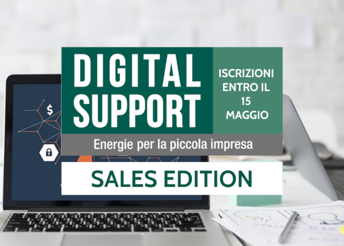 Iscriviti a Digital Support 2021 - sales edition