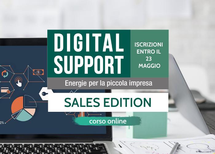 Iscriviti a Digital Support - sales edition