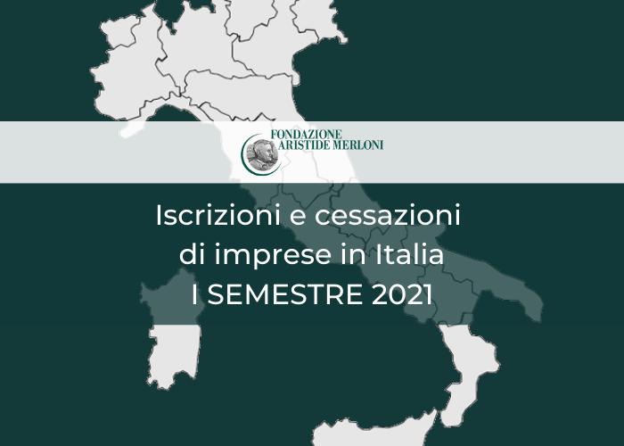 Iscrizioni cessazioni imprese italia 2021